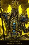 Tyrian Tarot - Emperor - WIP