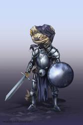 54/365 - Gecko knight by h1fey