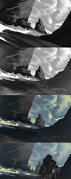 Wanderer - Process by h1fey