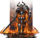 Burning warlord