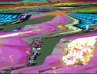 FZero 64 Crash glitched by Greezus