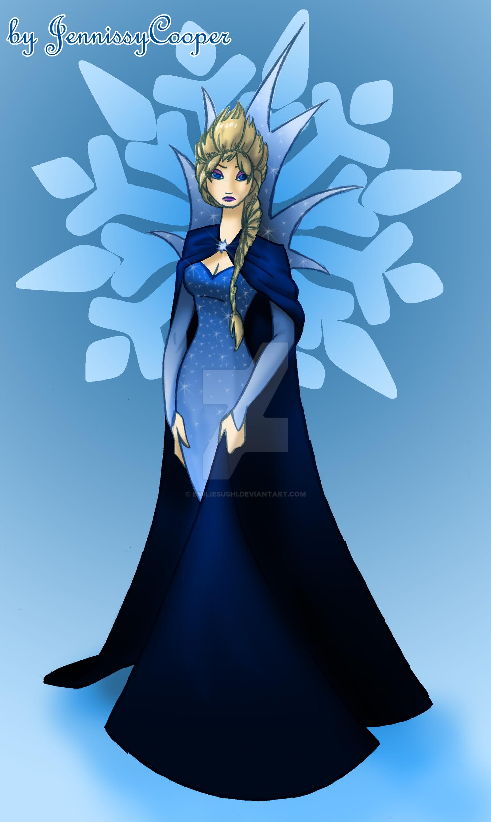 Evil Elsa Design By JennissyCooper On DeviantArt
