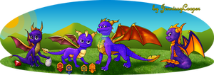 The Evolution of Spyro the Dragon