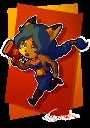 Chibi Carmelita Fox