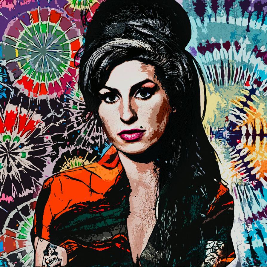 Amy Winehouse by lLunarWave