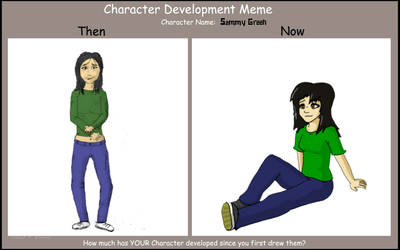 Character Development Meme by Wullufdude