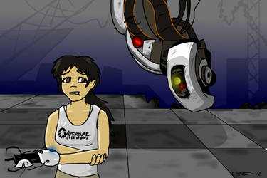 Sammy in Portal (2) by Wullufdude