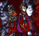 Cmdr. Makara and Cpt. Orion