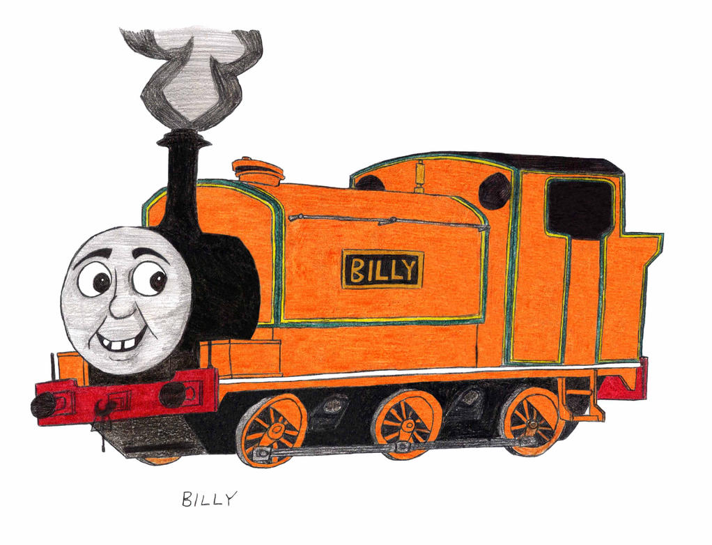 how to draw henry the train