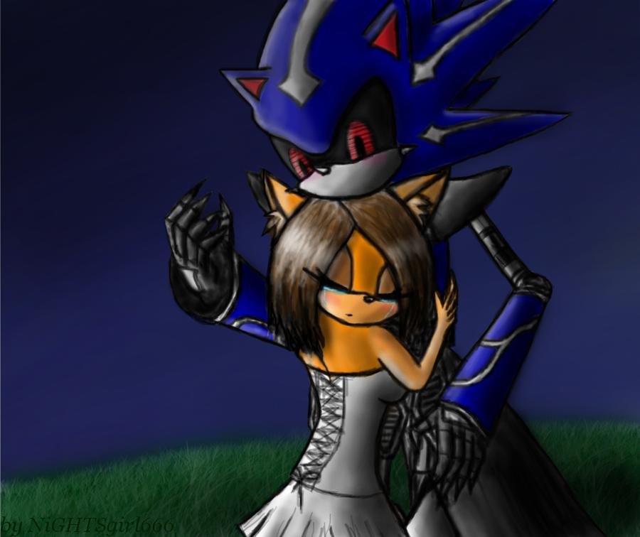 Metal Sonic X Anny by NiGHTSgirl666