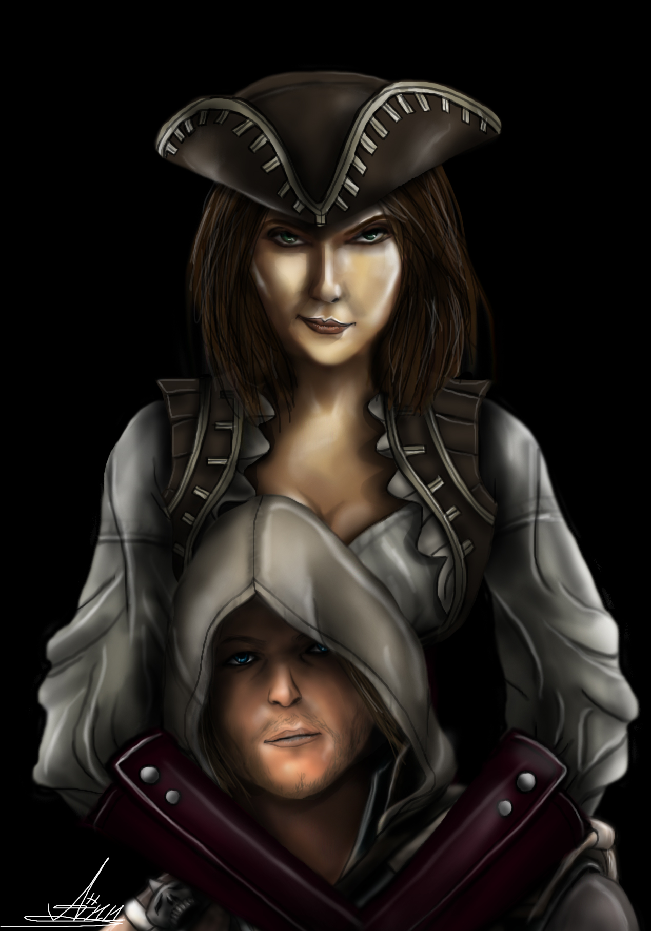 Anne Bonny Assassins Creed Black Flag By Ladylionheart On