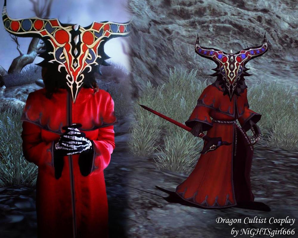 Dragon Cultist Cosplay by NiGHTSgirl666