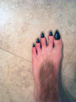 Shewolf Foot by WereKatt