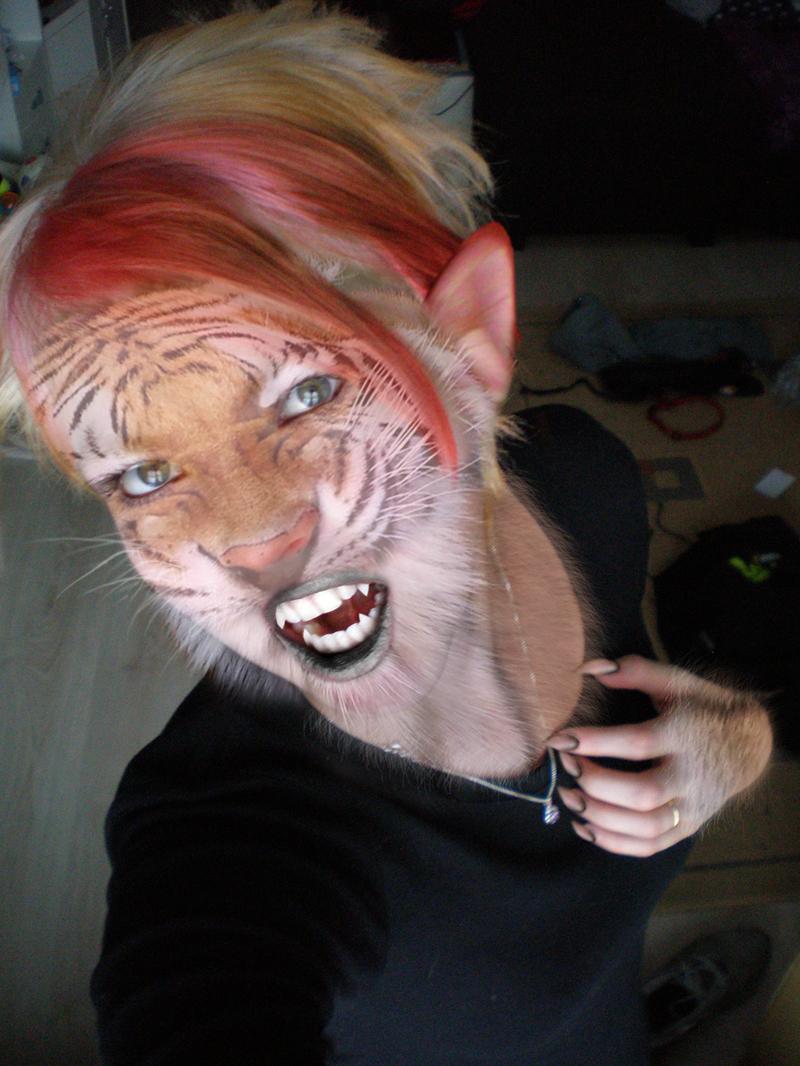 Don't Mess With a Tigress by WereKatt