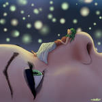 Eyes up to the fireflies night by AntivsArtlessPage