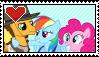 PinkieCheeseDash [ STAMP ] by Iesbeans