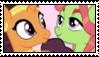 SaffronHugger Stamp by Iesbeans