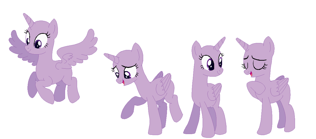 Princess Twilight Sparkle Base