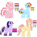 My Little Pony Modified / Headcanons
