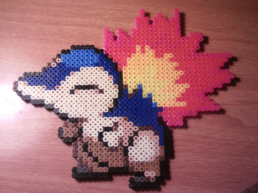 Cyndaquil Perler by CooltrainerBrooke