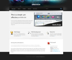 Sinsdesign template