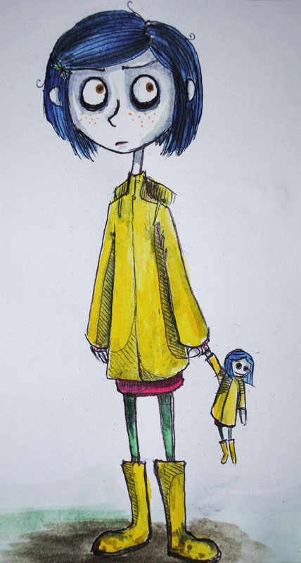 Coraline By Easy Nuh On Deviantart