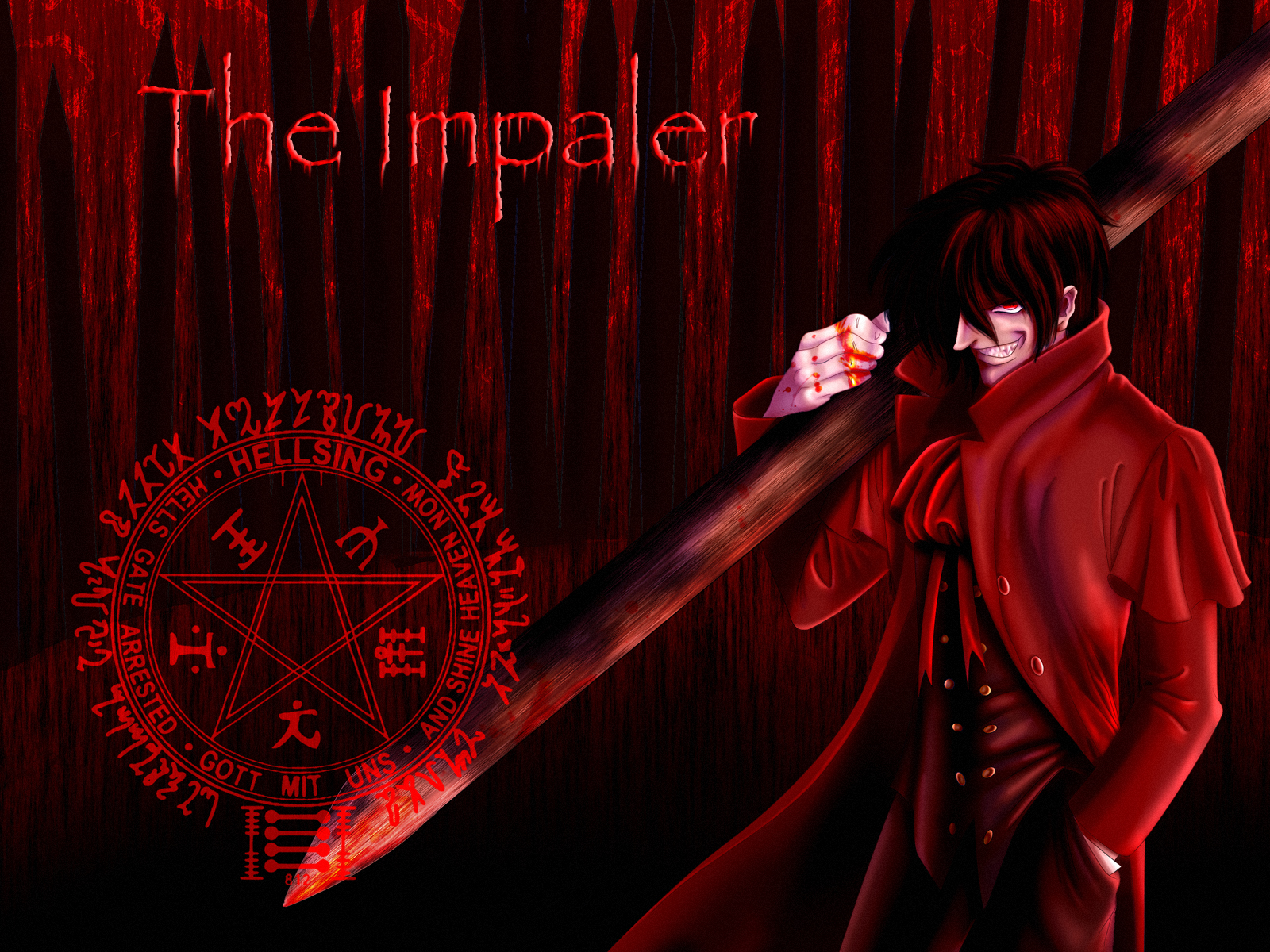 The Impaler - Wallpaper by tchintchie The Impaler - Wallpaper by tchintchie