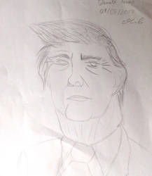 Donald Trump Caricature by UnnamedPersonWithoOo