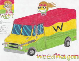 West's WeedWagon Redraw by CrimsonAlphaField