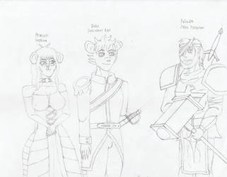 Of Royality and Paladins by CrimsonAlphaField