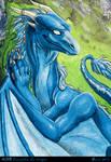 ACEO Samantha the dragon