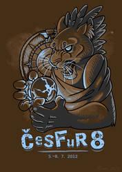 CeSFuR T-shirt design