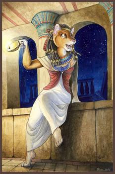 Saqqara, the Blue Jewel