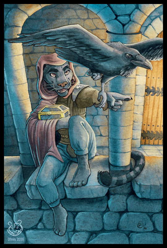 Master Thief by olvice