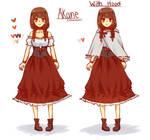 [OC] Akane Character Design