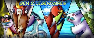 Gen 2 Legendaries by Musicgames98