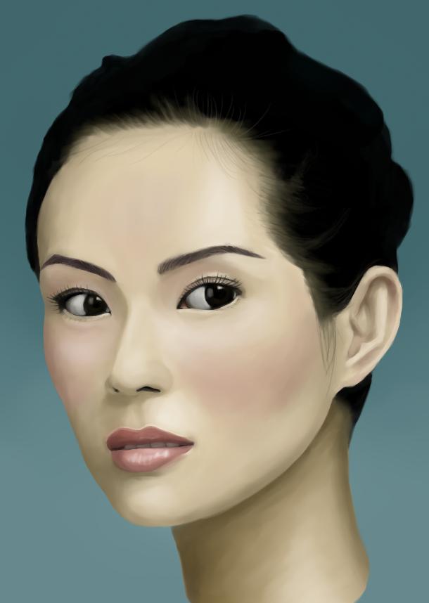 Ziyi Zhang by tkc-art
