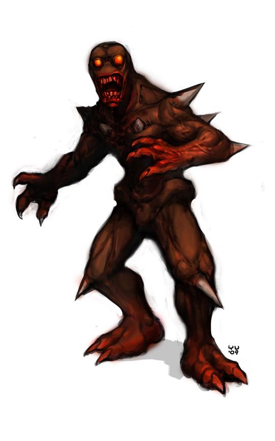Doom Imp by bossquibble