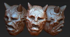 ZBrush Ogre Head