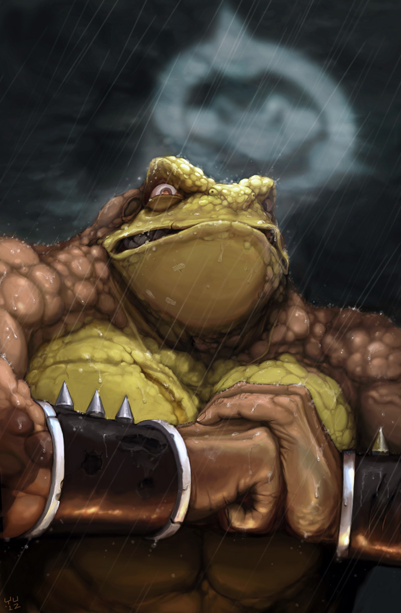 Battletoads - Pimple by bossquibble