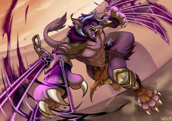 CM: Beast of the Colosseum by NegaNeon