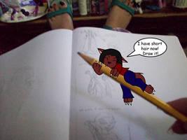 LLB: Get off my pencil
