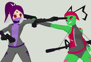 IZ: Gaz VS Pink