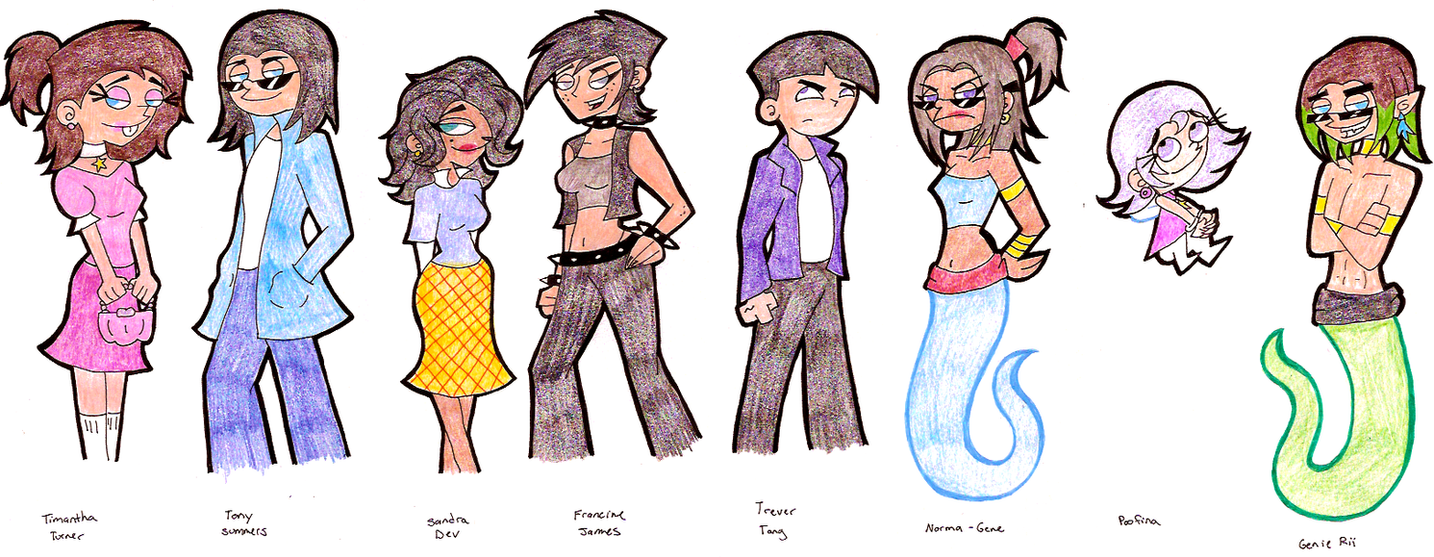 FOP Gender Bender Time 168327942 on Francis From Fairly Oddparents