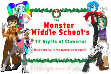 MH: The 12 Nights of Clawsmas by KPenDragon