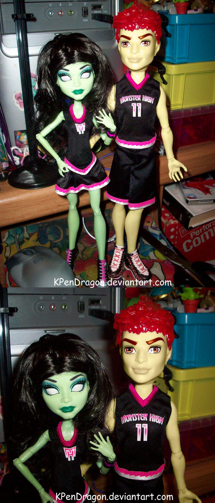 MH: Larma Doll Manip -Scream Uniforms- by KPenDragon