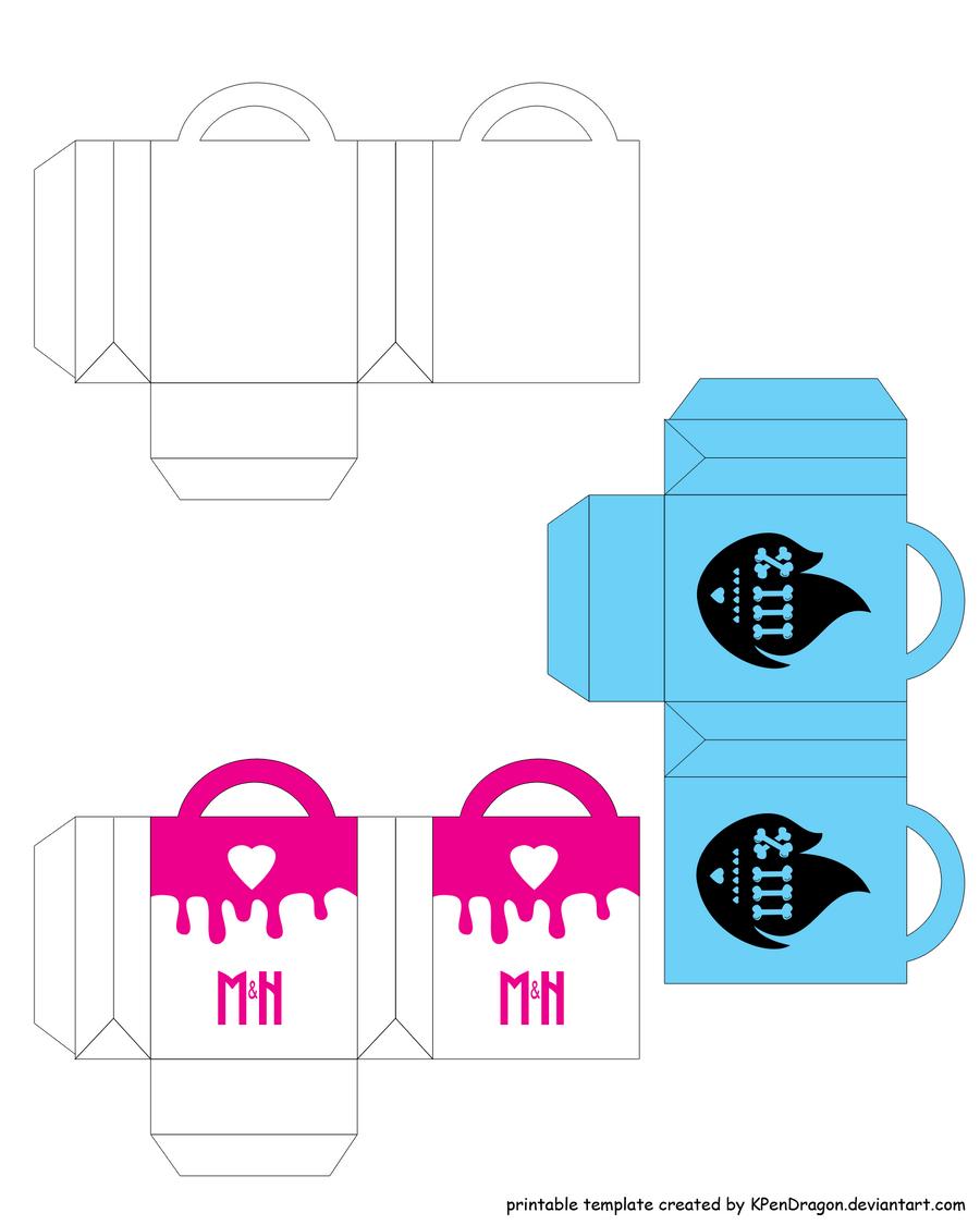 MH: Shopping Bag Printable by KPenDragon