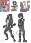 FOP: Various Catlad Sketches