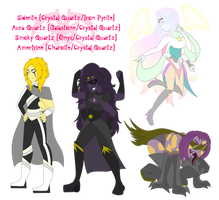 SU: Crystal's Fusions by KPenDragon