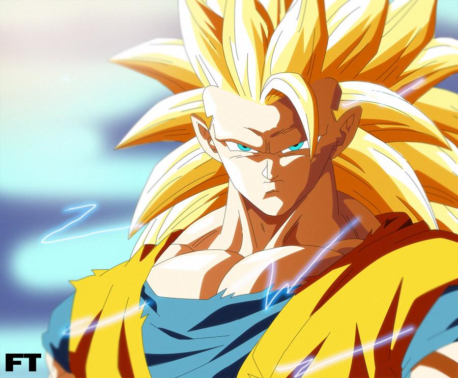 Goku super saiyan 3 by futonrasen on deviantart - Sangoten super sayen 3 ...